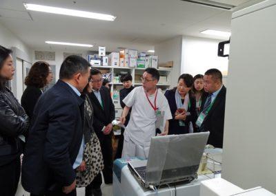 日本药学会第138年会(金泽)访日团-参观大阪府济生会野江医院