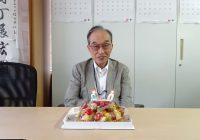 安達副会長のお誕生日会