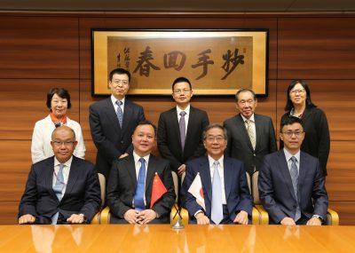 中日友好医院 孫陽院長一行が日中医学協会を表敬訪問されました