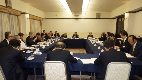 日中医学協会公益第22回理事会が開催されました