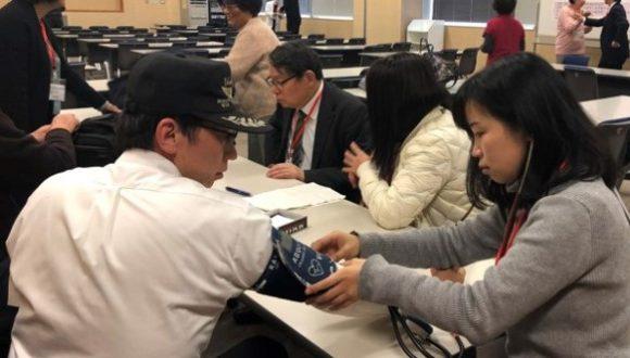笹川同学会日本分会召开健康讲演会和健康咨询会 in 明石