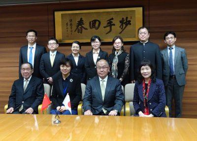 中国医療養老政策立案者訪日研修を実施しました