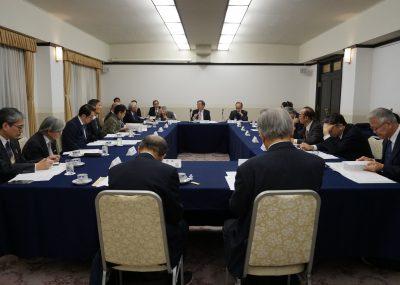 公益第27回理事会と忘年会を開催しました