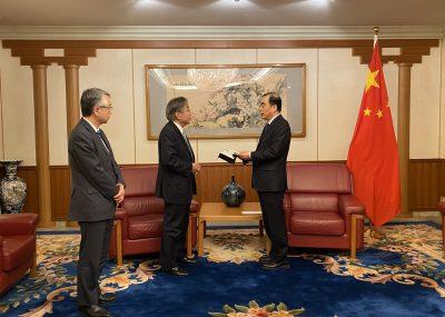 新型冠状病毒传染症-已向中国捐赠医疗物资