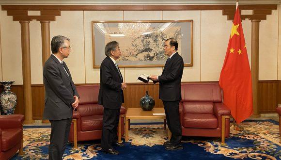【COVID-19】中国に医療物資を寄贈しました