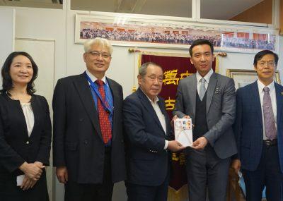 【COVID-19】中国企業DaddyBaby社より医療用マスク1万5千枚が寄贈されました