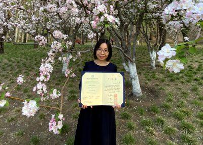 中日笹川医学奖学金项目攻读学位型研究员取得了长崎大学博士学位!